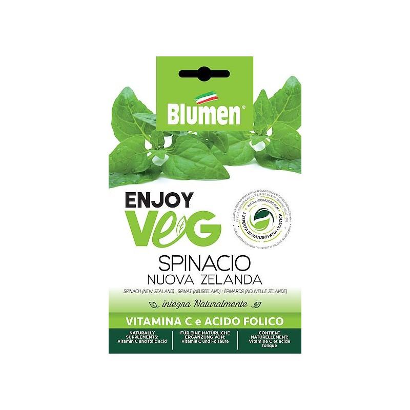 Enjoy Veg Spinat Neuseeland Samen - Regionen Italiens