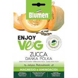 Enjoy VegKürbis Danka Polka Samen - Regionen Italiens