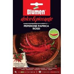 CHILI PAPRICA ROSSO ist eine alte beliebte italienische Sorte. - Regionen Italiens