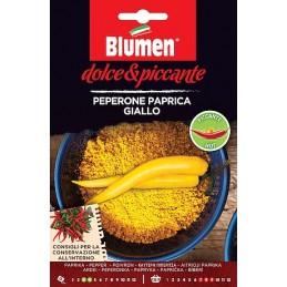 CHILI PAPRICA GIALLO ist eine alte beliebte italienische Sorte. - Regionen Italiens