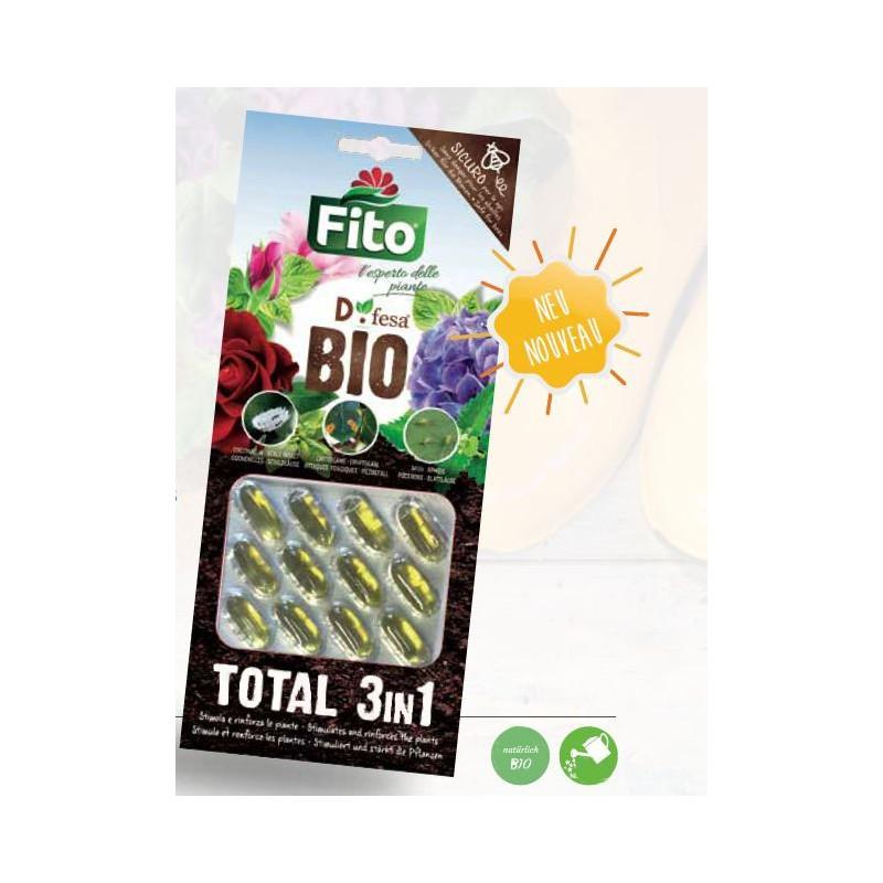 Total 3+1 BIO Schädlingsbekämpfung Für alle Pflanzen geeignet. - Regionen Italiens