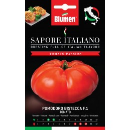 Fleischtomate Bistecca F.1 mit fleischigen Früchten und ausgezeichneten Geschmack. - Microgreens