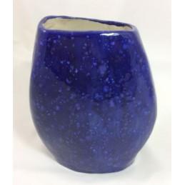 Dekorative Vase aus Keramik in blau. - Regionen Italiens