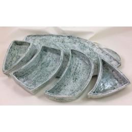Schaleaus Keramik, oval 5-teilig ca. 35 cm l 18 cm b - Raritäten