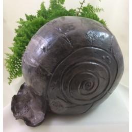 Schnecke braun aus Keramik. ca. 15cm - Regionen Italiens