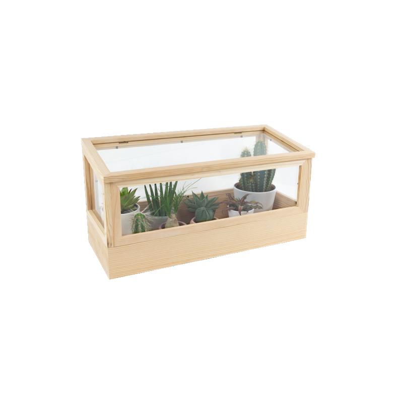 Design-Pflanzenhaus aus Massivholz