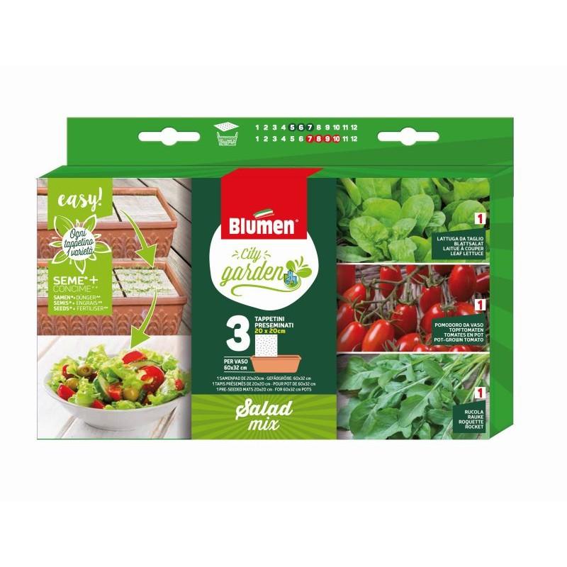 Packung Samenpads Salat Mix