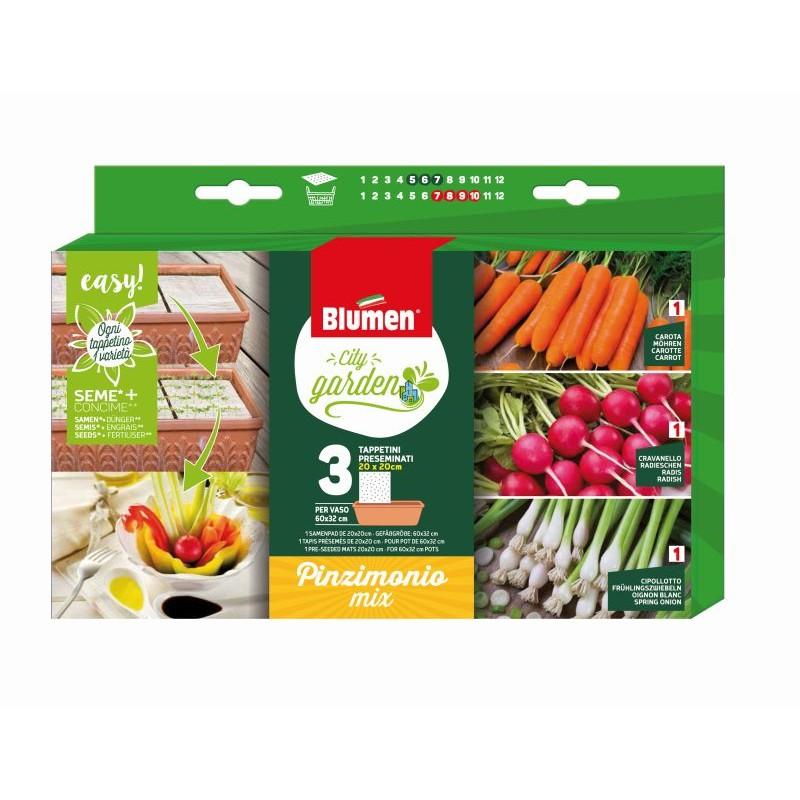 Packung Samenpad Snack Gemüse MIX