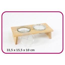 2er Sprossenbankaus Holz - Samenspezialitäten