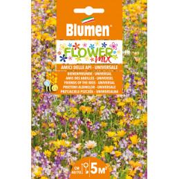 Flower Mix- Blumenwiese, Bienenfreund in der XXL Packung.  - Regionen Italiens