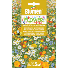 Flower Mix- Blumenwiese, Herbstblumen in der XXL Packung.  - Regionen Italiens