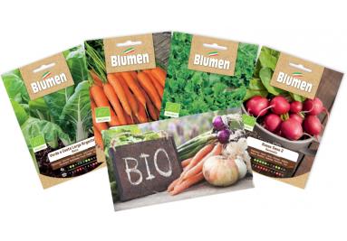 ▷ Bio Gemüsesamen