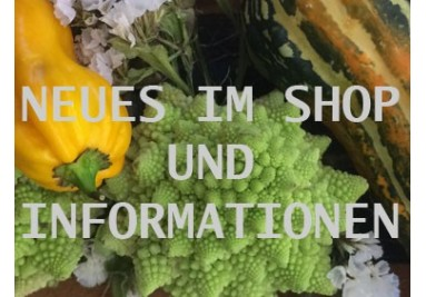 Neues und Informationen im Shop
